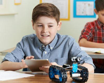 Desde qué edad es recomendable los robots en las escuelas
